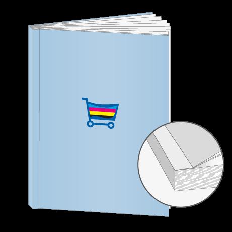 Broschüren Klebebindung DIN A6
